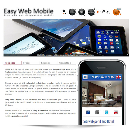 <strong>EASY WEB</strong> MOBILE